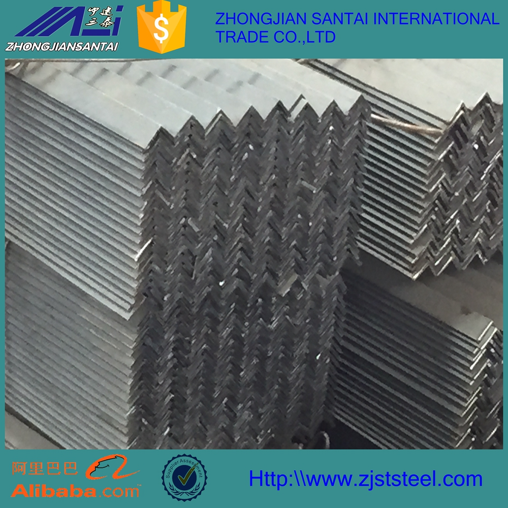 steel angle iron steel angle with holes unequal angle