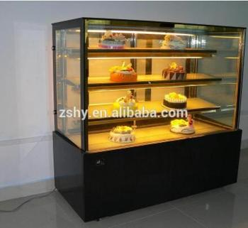 Bakery shop Cake Refrigerator Showcase with Marble base
