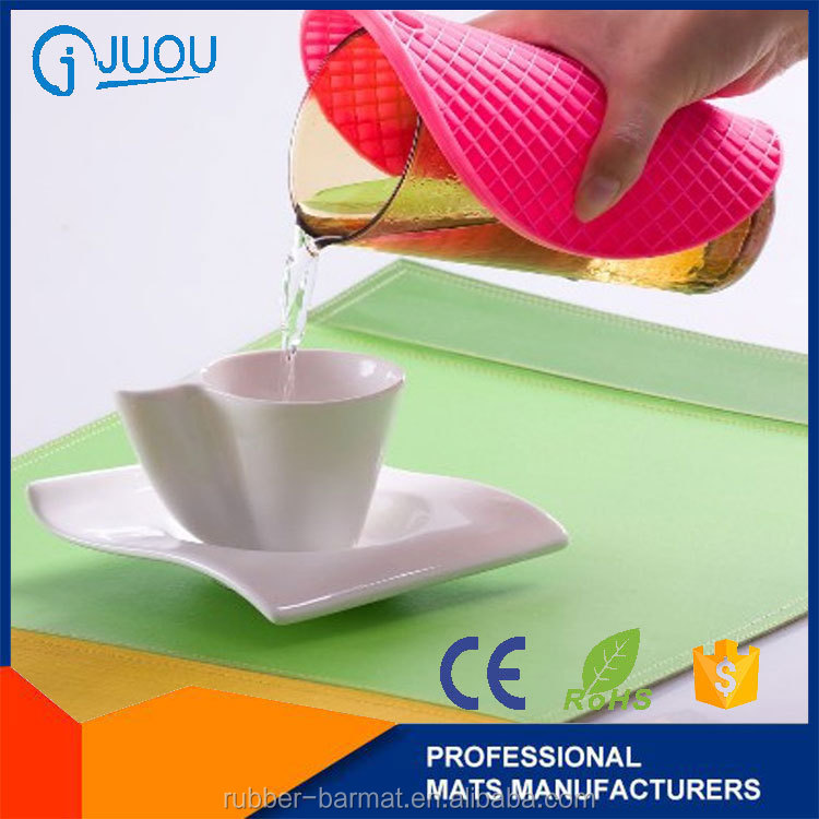Super grade top quality high quality pvc placemats colorful table placemat