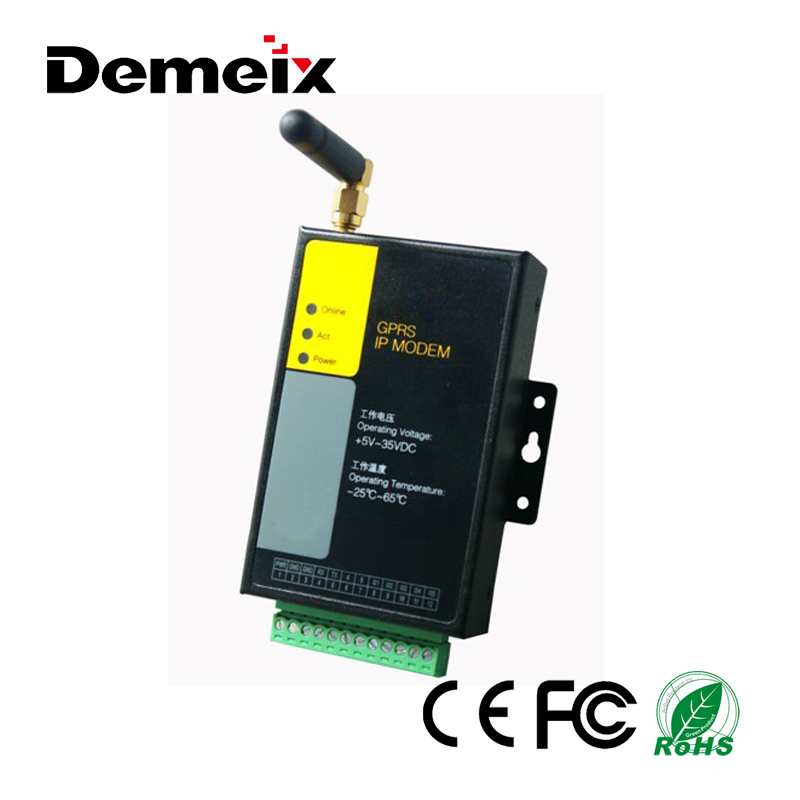 Low Consumption Industrial TCP/IP Stack GSM GPRS Modem 3G Modem with Sim/UIM Card Slot RS232/RS485 Supprt 5-ch Digital I/O
