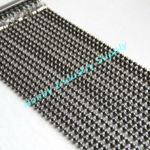 8mm Vintage Gunmetal Ball Chain Decorative Beads Curtain