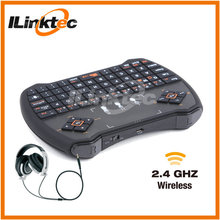 Professional 2.4g mini wireless keyboard for android smart TV box, difference language available
