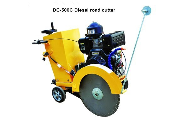 diesel engine electric concrete cutter