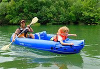 Cheap Inflatable rowing boat made in china