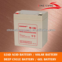 Rechargeable lead acid battery 12V 5Ah