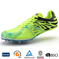 new arrival durable fashion oem design youth men track field running spikes cleats shoes