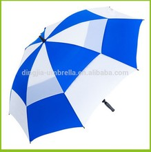 Hgh quality treavel golf umbrella fiberglass frame material