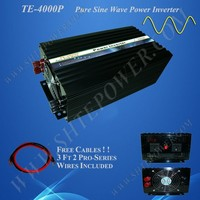 Full Power Off Grid Pure Sine Wave 12V 24V 48V to 110 220V 230V DC to AC Inverter 4000W