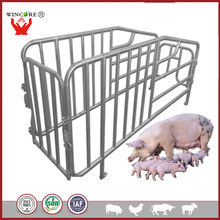 High quality cheap pig farm durable hot dip galvanized sow stall