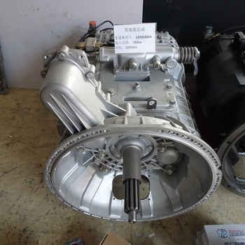 Hot-selling gearbox assembly Faster 12-speed aluminum shell gearbox assembly 12JSD200A  gearbox transmission
