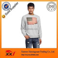 High quality american flag sublimation printing pullover sweatshirts for men