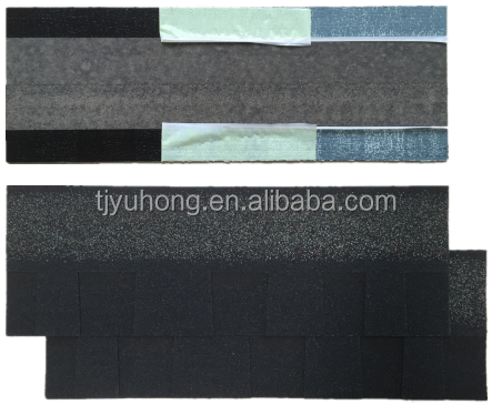 Laminated Asphalt Shingles (Color: Charcoal Black)