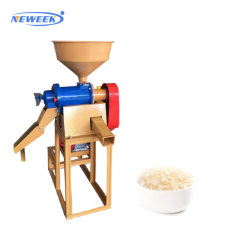 NEWEEK automatic polishing mill sticky rice paddy milling grain hulling machine