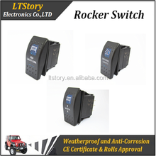 Motorcycle/Car Sealed rocker switch IP68