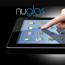 tempered glass screen protector for ipad mini real factory top qualty nuglas brand