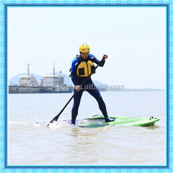 no inflatable plastic rotomolded paddle board