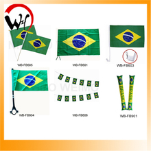 world country promition flag Brazil flag for world cup