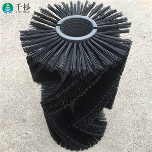 Custom industry bristle glass cleaning nylon roller sweeper brush size