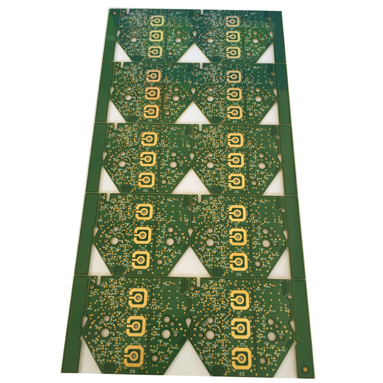 FR 4 94V0 circuit board for heart rate monitor with double sided pcb