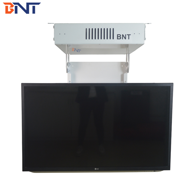 Home/School Popular Ceiling Mount Motorized Flip Down TV Bracket/Motorized Ceiling Lift Mechanism