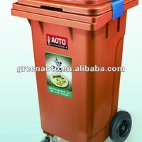 120L Plastic Waste Container With Water