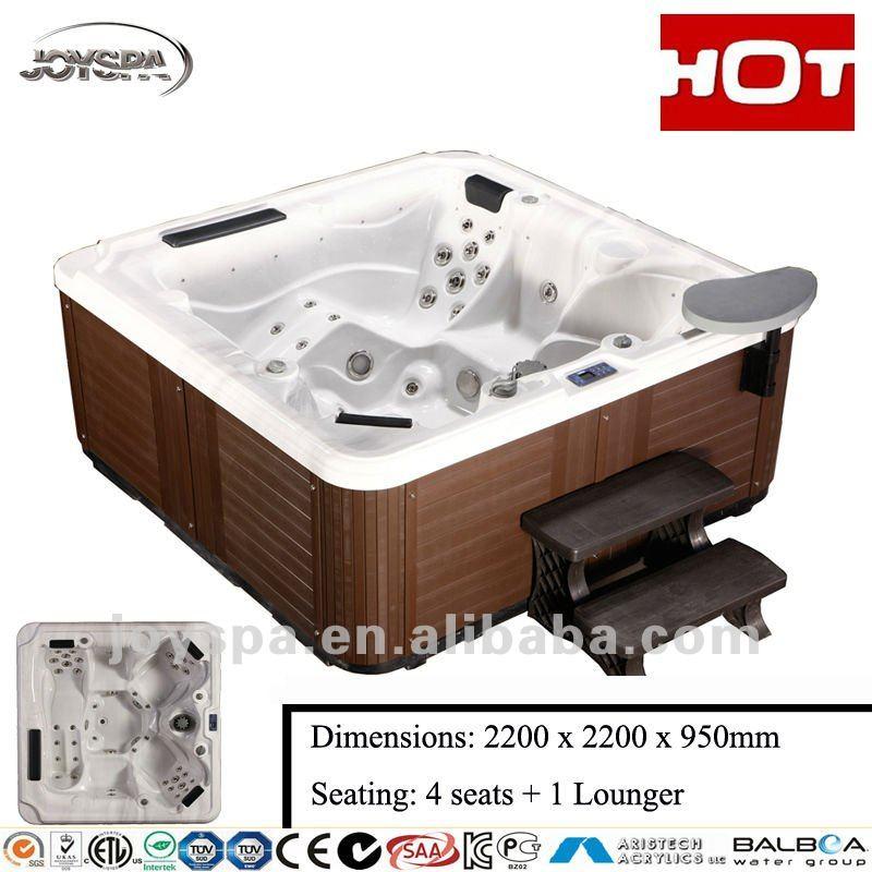 Top selling hydro spa hot tub equipped with LX whirlpool pump