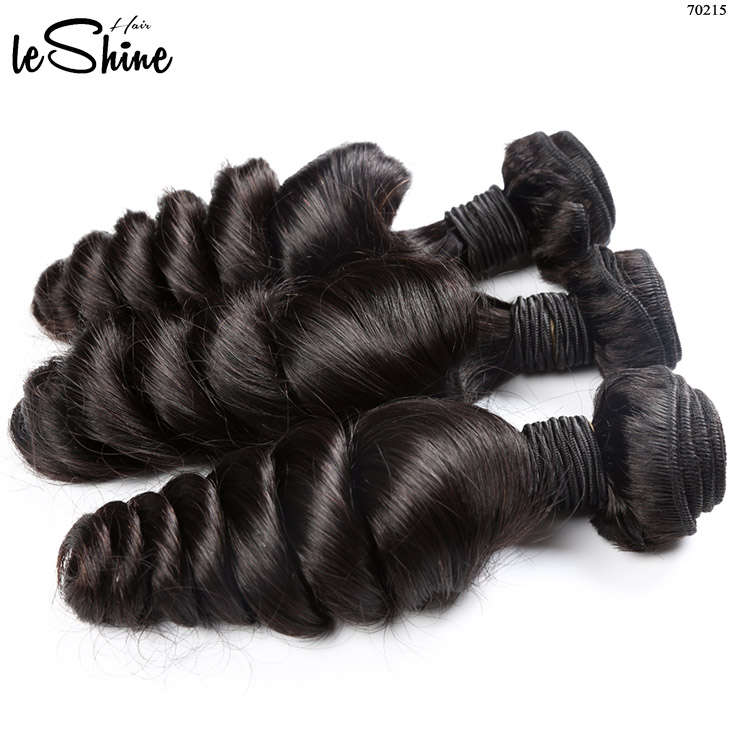 7A 8A Loose Wave Virgin Remy Human Hair Extensions <strong>100</strong>% Full Cuticle Aligned Mink Brazilian Hair