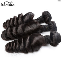 7A 8A Loose Wave Virgin Remy Human Hair Extensions 100% Full Cuticle Aligned Mink Brazilian Hair