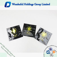 factory manufacture small aluminum foil coffee bag packaging custom