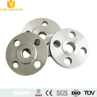 CNC turning machine aluminum back ring flange/heavy truck carbon tube flange pipe adapter