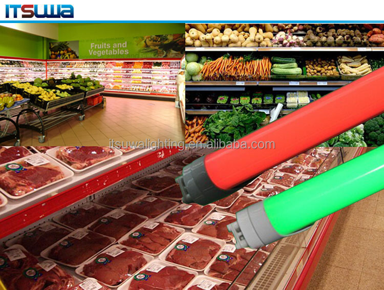 fresh LED rigid bar light fresh food display cabinet lighting with CE ROHS compliant