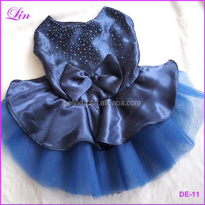 Free Shipping by DHL/FEDEX/SF Dog Puppy Wedding Party Skirt Clothes Dress Pet