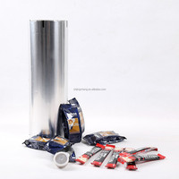 JC cake slice coffee multilayers packaging film roll,cling film for food wrap