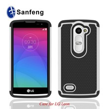 Soft Gel skin back cellphone case for LG Optimus Leon C40 Spirit H440N Joy Magna cover