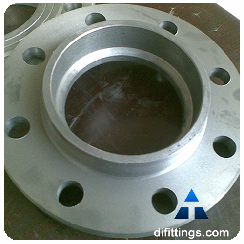 Ductile iron flange and blind view threaded