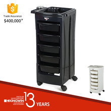 Kingwin Professional Hair coloring trolley Salon Furniture