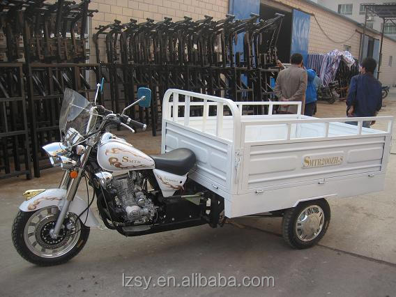 200cc light gas cargo motor reverse three wheel motorcycle for sale (SY200ZH-C)