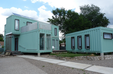 New style container house shipping homes container villa different style design
