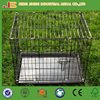 High quality two door powder coated metal wire mesh pet dog crate, dog cage, dog kennel