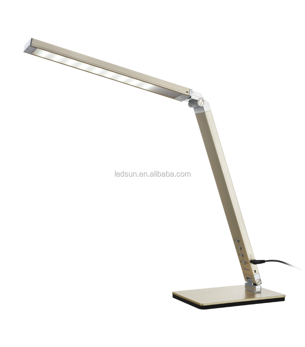10w Dimmable Led Desk Lamp for Office Decoration/Student Reading/Home Lighting