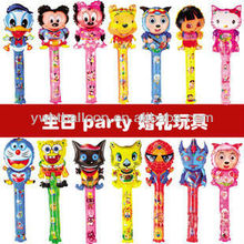 2012 Best Popular Clapper Sticks Balloons Filled Normal Air
