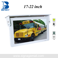 17 inch flip down car led monitor 12v