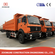 HENAN China Dumper 6x4 Sand Tipper Truck Dump Truck For Sale