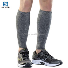 Elastic neoprene leg support calf compression sleeve for training