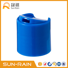 Plastic flip top cap for mouthwash