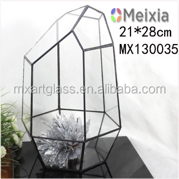 MX130035 tiffany stained glass Indoor plant terrarium for plant holder wholesale