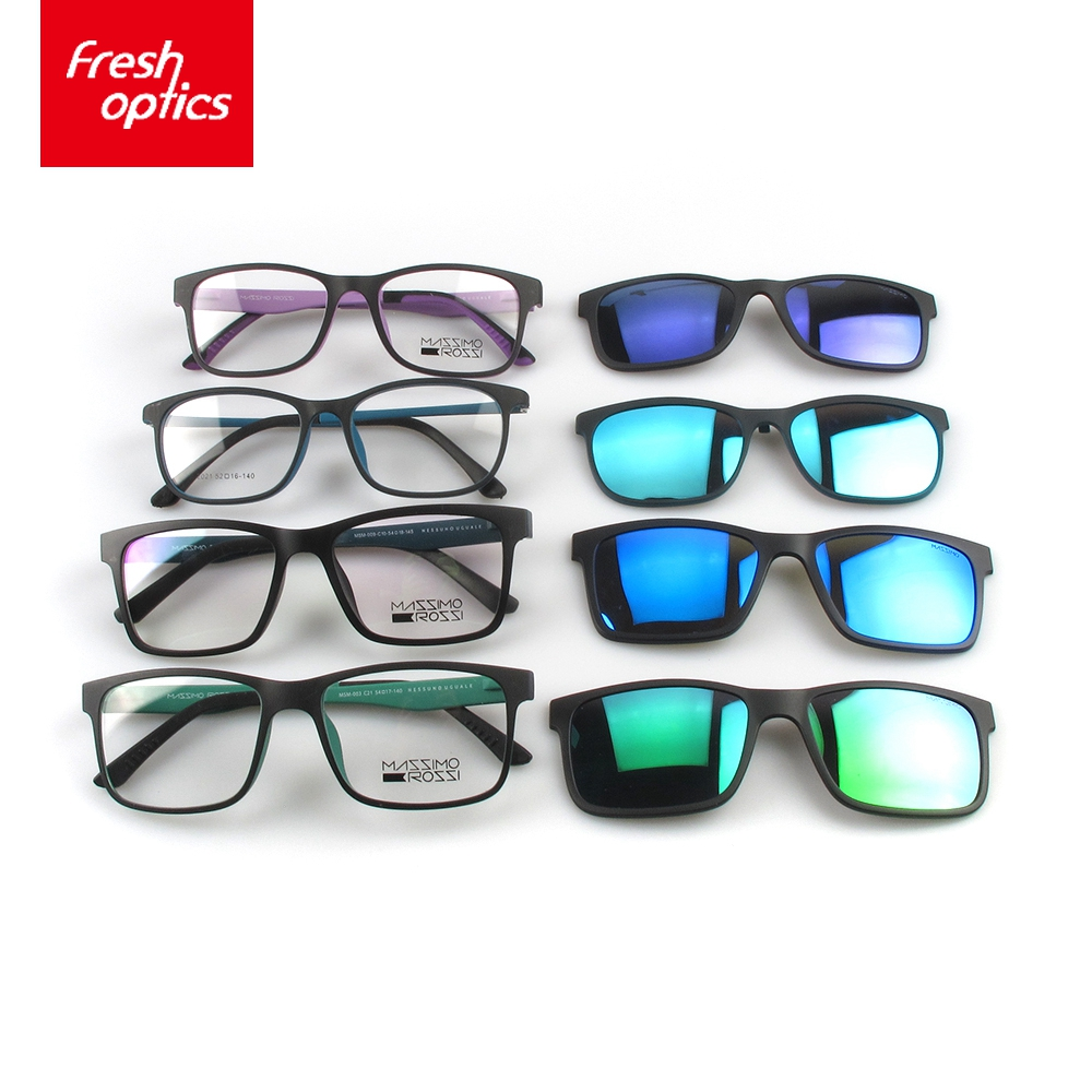 China wholesaler mens magnetic clip on sunglasses polarized own logo sunglasses italy design