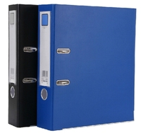 recycle paper A4 box lever arch file 2 hole ring binder file folder for office