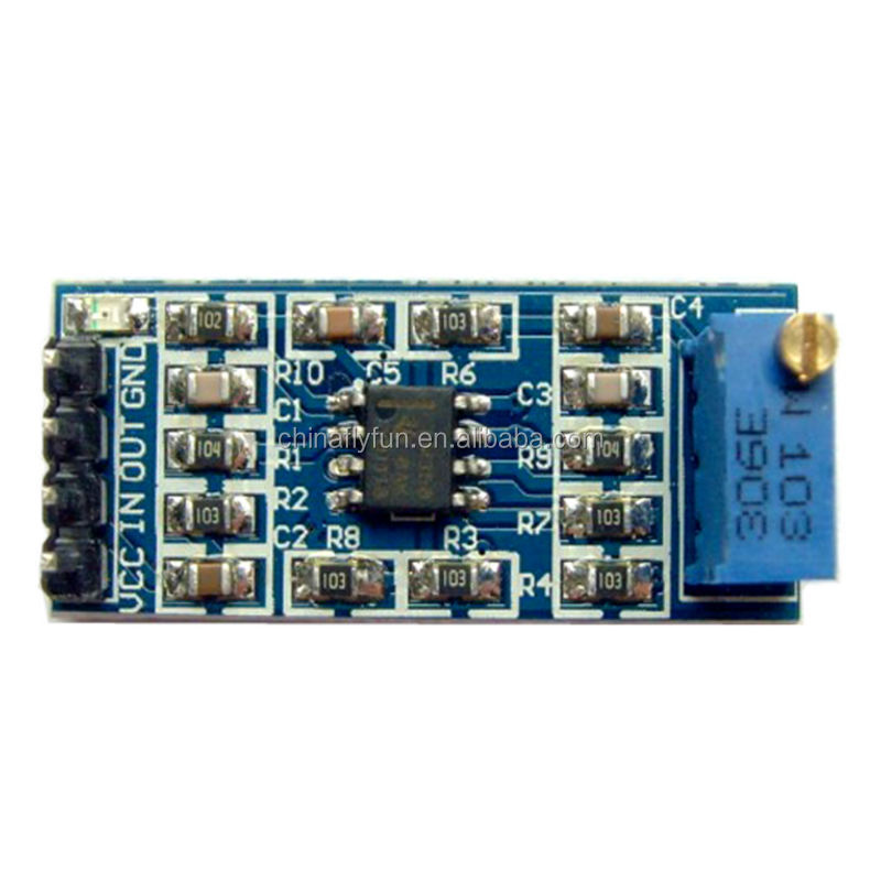 LM358 <strong>100</strong> Times Gain Signal Amplification Amplifier Operational Amplifier Module