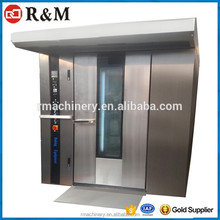 2017 Commercial 32 Trays Automatic Bakery Machinery Arabic Bread Oven Electric Rotary Oven for Bread Making